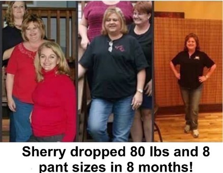 Skinny Genex - Before & After - Sherry