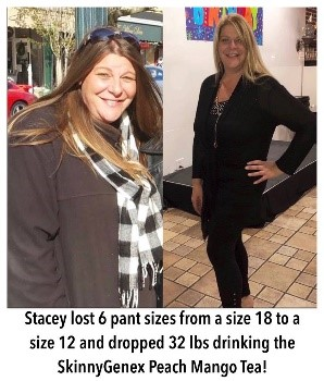 Skinny Genex - Before & After - Stacey