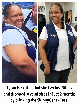 Skinny Genex - Before & After - Lybra